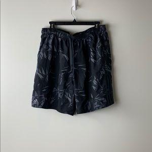 Adidas Camo Leaf Print Athletic Shorts Size XL